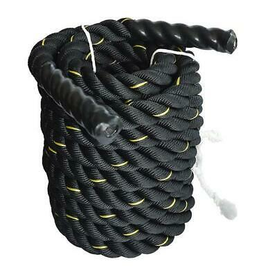 AU113.88 • Buy Battle Rope Día 3.8cm X 9M Length Poly Exercise Workout Strength Training