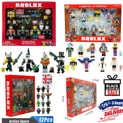 NEW Roblox Figures PVC Game Toys Set Style Play Kids XMAS Gift Collection In Box • 12.58£