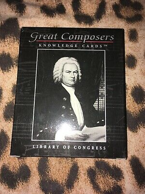 Great Composers Knowledge Cards • 1£