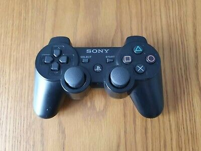 Official Sony Playstation 3 Ps3 DualShock Wireless Controller - Sixaxis • 15.99£