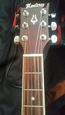 AU99.99 • Buy Monterey Accustick Guitar In Perfect Condition  , With New Strings , & Bag.