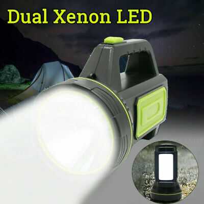 LED Camping Lantern Rechargeable Portable Outdoor Tent Lights Fishing Power Bank • 14.87£
