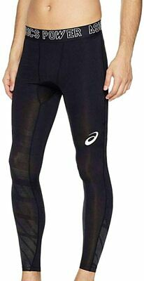 Asics Men's Recovery Tights Compression Muscle Recovery Tights - Black - New • 24.99£