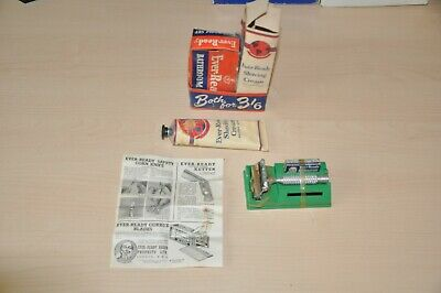 Vintage Ever-Ready Bathroom Set, Includes Shaving Cream & Razor. Unused. C1950's • 9.99£