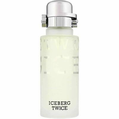 NEW Iceberg Twice For Him 125ml Fragrance EDT Spray Aftershave  • 15.95£
