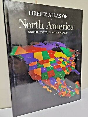 FIREFLY ATLAS OF NORTH AMERICA: United States, Canada And Mexico ~BRAND NEW~RARE • 70.35£