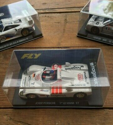Slotcar FLY A42 Joest Porsche Bianco Le Mans Winner 1997 BOXED NOT BRAND NEW • 20£
