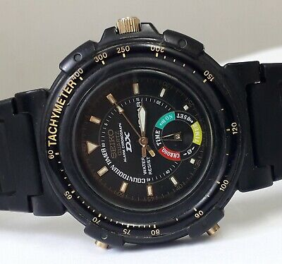 $ CDN131.09 • Buy VINTAGE WATCH SEIKO 8M25-619A DANCING HANDS MADE IN JAPAN COLLECTIBLE RARE 1990s