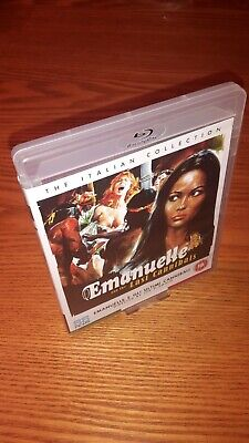 EMANUELLE AND THE LAST CANNIBALS Blu-ray UK Vrsn 88 Films All Region B Free Abc • 11.99£