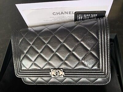 AU2890 • Buy Price Increase Soon 🖤 Chanel Boy WOC With FULL SET
