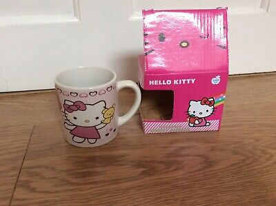 Hello Kitty  With Teddy & Balloon With Hearts Mug - Brand New In Box- Last Few • 3£