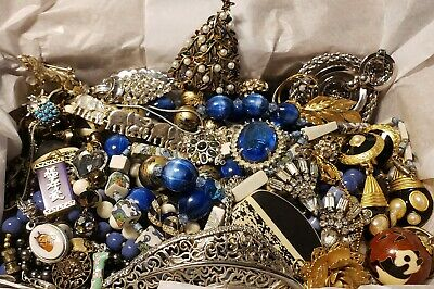 $ CDN61.47 • Buy Vtg Mod Jewelry Lot Rhinestone + Signed Coro JJ Tree Kate 48 DSC Giovanni