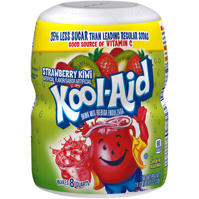 Kool Aid Strawberry Kiwi Drink Mix, 538g (19oz) • 8.99£