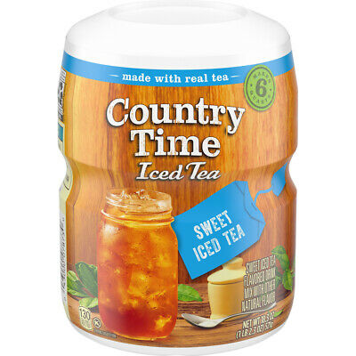 Country Time Sweet Tea Iced Tea Powdered Drink Mix, 538g • 9.99£