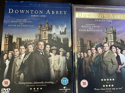 Downton Abbey - Series 1 & 2 Box Set [DVD] - DVD  Fast Free Post • 4.29£