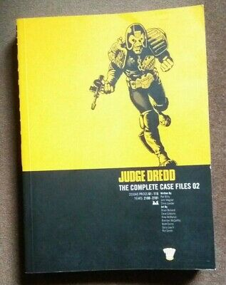 Judge Dredd: V. 2: Complete Case Files By Pat Mills, John Wagner Paperback • 9.99£