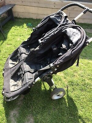Baby Jogger City Mini Double Pushchair - Black • 34£