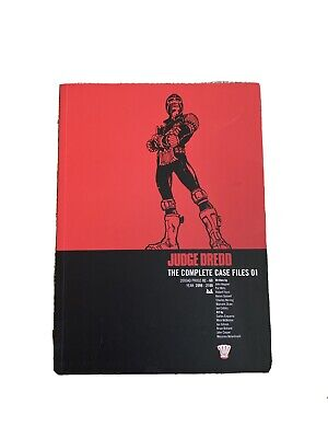 Judge Dredd: The Complete Case Files 01 New Paperback Book • 10£