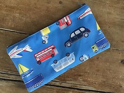 £5.80 • Buy Handmade Cath Kidston Wheels And Wings Transport Pencil Case