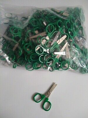Childrens Craft Scissors Joblot Of 200 Pairs Approx 3 Inches Long Blunt End • 17£