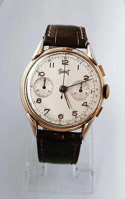 $ CDN1642.09 • Buy Vintage Bovet Chronograph Wristwatch