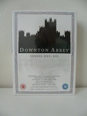 Downtown Abbey, Complete Collection, Dvd Box Set, Series 1-6, New/sealed. • 24.99£