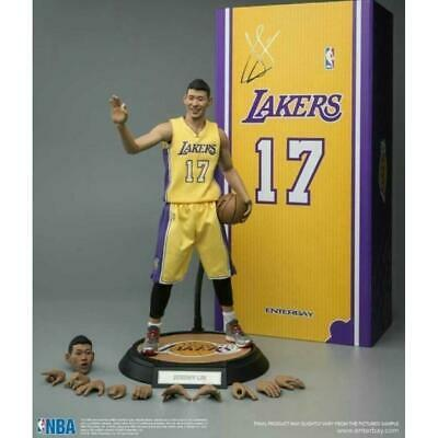 $1599 • Buy Enterbay Real Masterpiece Jeremy Lin Lakers Uniform - Limited Edition