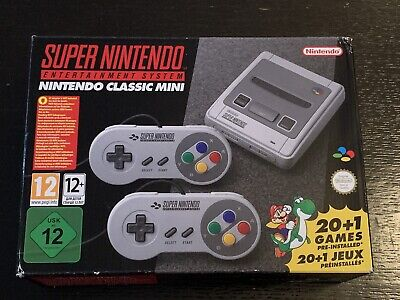 $ CDN132.15 • Buy MINT SEALED Nintendo SNES Classic Mini Europe Edition (Not Region Locked) + HDMI