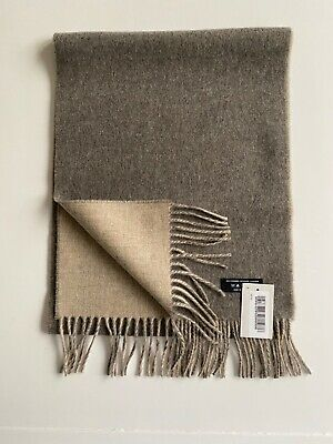 £45 • Buy  Reversible Pure Cashmere Scarves Made In Scotland By Johnstons Of Elgin