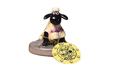 Shaun The Sheep Coalport Collectable - Shaun's New Coat - Wallace And Gromit • 9.50£