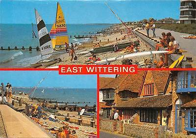 East Wittering Beach Boats Promenade Cottages • 1.88£