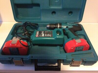 Makita 8391d 18v Cordless Combi Drill, 2 Batteries, Charger And Case • 30£