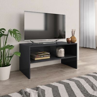 AU49.95 • Buy TV Cabinet Glossy Entertainment Unit Stand Media Console Storage Display Table