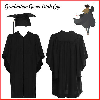 University Academic Graduation Gown,Hat And Tassel-Bachelor Level-Best Sell • 13.61£