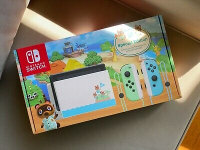 AU540 • Buy Nintendo Switch: Animal Crossing Special Limited Edition (BRAND NEW SEALED)