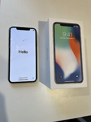 AU305 • Buy Apple IPhone X - 256GB - Silver - Cracked Screen