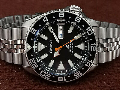 $ CDN137 • Buy Seiko Diver 7s26-0020 Skx007 Stunning Black Airdiver Prospex Automatic Watch 773