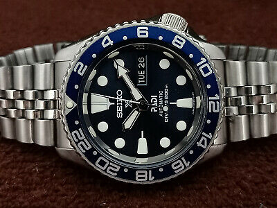 $ CDN69.57 • Buy Lovely Dark Blue Padi Modded Seiko 7s26-0020 Skx007 Automatic Mens Watch 700996