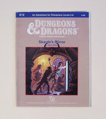 AU66 • Buy D&d DUNGEON MODULE X12 SKARDA'S MIRROR 9188 Rpg Tsr Dungeons Dragons