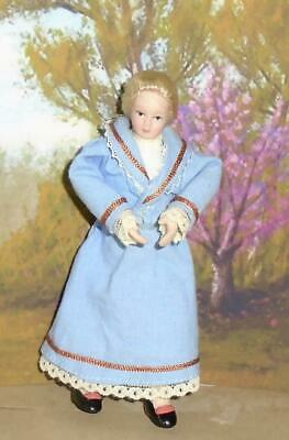 $ CDN8.59 • Buy TEACHER Governess MOTHER Dolls House Porcelain Doll Victorian Edwardian NEW