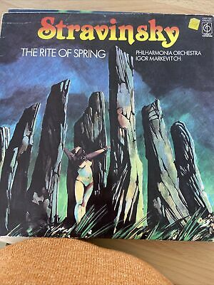 CFP 129 - STRAVINSKY - The Rite Of Spring MARKEVITCH Phil Orch - Ex LP Record • 5£