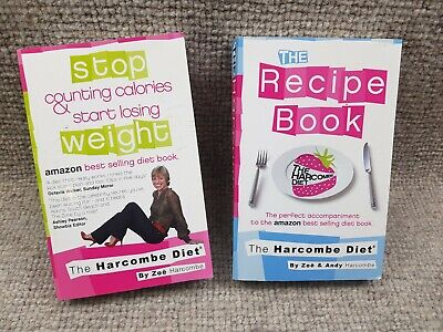The Harcombe Diet Calories Losing Weight, Harcombe, Zoe & Andy + Recipes Book  • 8.99£