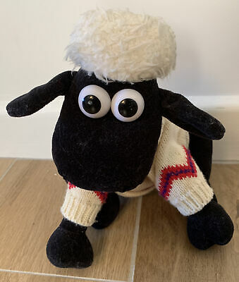 SHAUN THE SHEEP SOFT TOY Plush (WALLACE AND GROMIT) • 1.50£