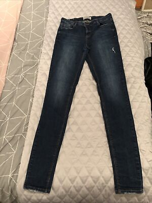 New Look Tall Womens Skinny Jeans Size 14  • 5.99£