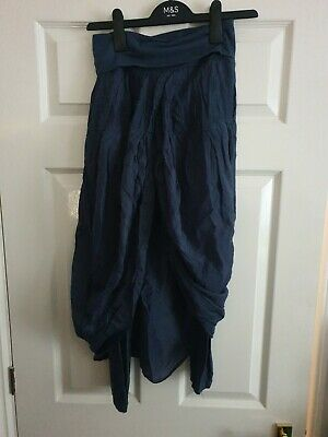 Arrias Boutique Legging With A Skirt Navy Womens UK 8-10 • 5.99£