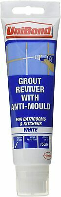 UniBond Waterproof Tile Grout Whitener Reviver For Bathrooms & Kitchens, 1x125ml • 8.29£