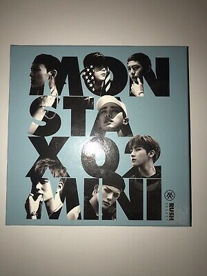 Monsta X Kpop Album Cheap Uk Like New Rush Version • 8£
