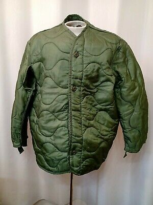 $19.99 • Buy U.S. MILITARY M65 Quilted FIELD JACKET COAT LINER, Size X LARGE
