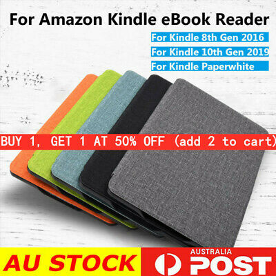 AU11.89 • Buy Ultra Slim Smart Case PU Leather Cover For Kindle 8/10th Gen Paperwhite 1/2/3/4-
