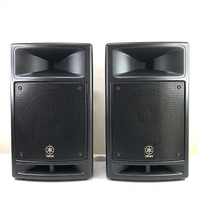 AU499 • Buy Yamaha Stagepas 300 Portable Powered PA System Dual Speakers W/ A Channel Mixer